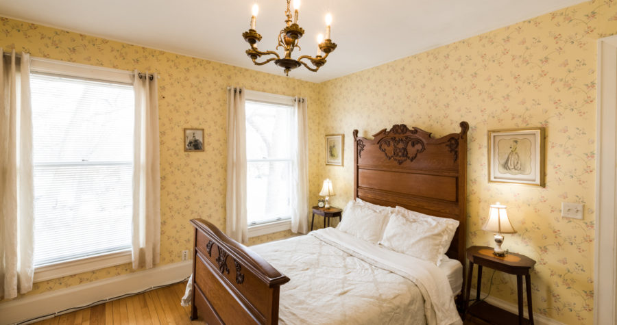Our Wisconsin Bed and Breakfast is the perfect place for a winter romantic getaway.